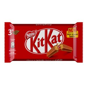 KIT KAT chocolatina pack 3 unidades 41,5 gr