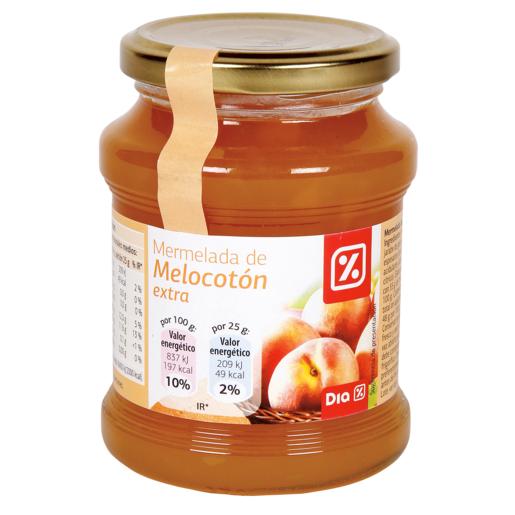 DIA mermelada extra melocoton frasco 390 grs