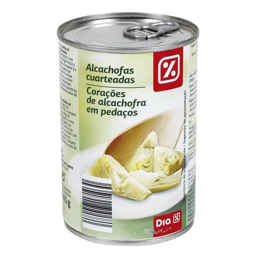 DIA alcachofas cuarteadas lata 240 gr