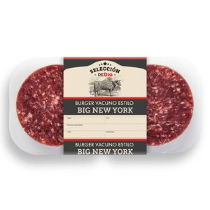SELECCIÓN DE DIA hamburguesa big New York bandeja 360 gr