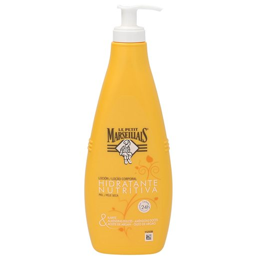 LE PETIT MARSEILLAIS loción corporal hidratante pieles secas bote 400 ml