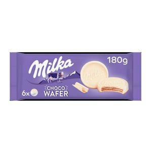MILKA galletas chocowafer blanco paquete 180 gr
