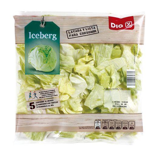 DIA lechuga iceberg bolsa 200 gr