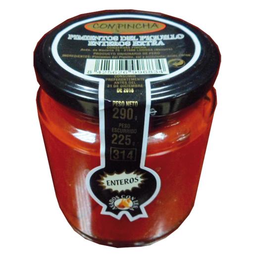 BAIGORRI pimientos del piquillo extra enteros frasco 290 gr