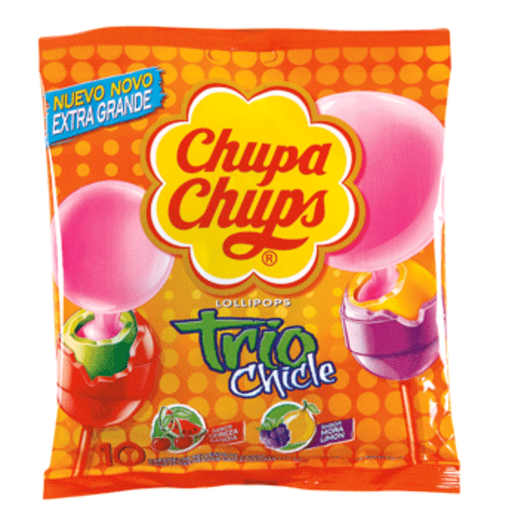 CHUPA-CHUPS trío chicle bolsa 150 gr