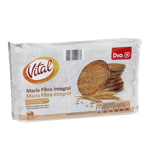 DIA VITAL galletas maría fibra integral paquete 800 gr