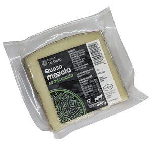 CERRO LA COTA queso mezcla semicurado cuña 300 gr