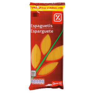DIA espaguetis paquete 1 Kg