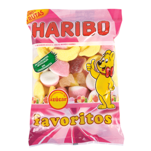 HARIBO golosinas surtidas favoritos azúcar bolsa 300 gr