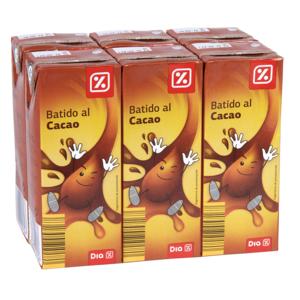 DIA batido al cacao pack 6 unidades 200 ml
