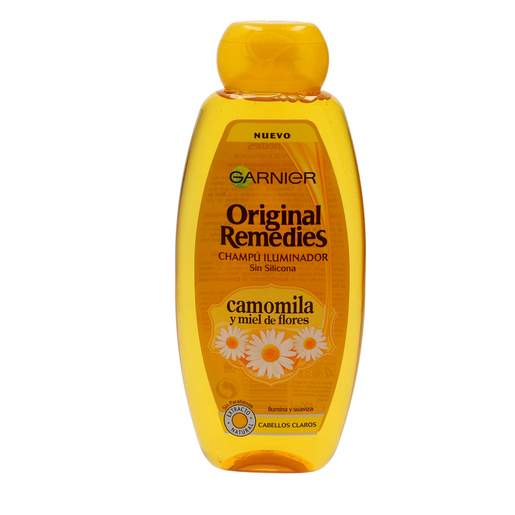 ORIGINAL REMEDIES champú camonila bote 400 ml