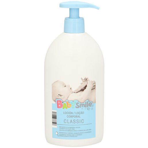 BABYSMILE loción hidratante baby classic botella 500ml