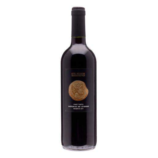 SEÑORIO DE AYERBE vino tinto DO Utiel Requena botella 75 cl