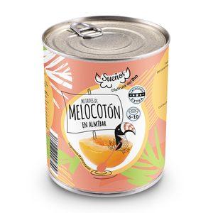 DIA SUEÑOS mitades de melocotón en almíbar lata 480 gr