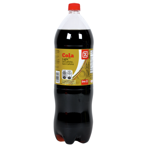 DIA refresco de cola light sin cafeina botella 2 lt