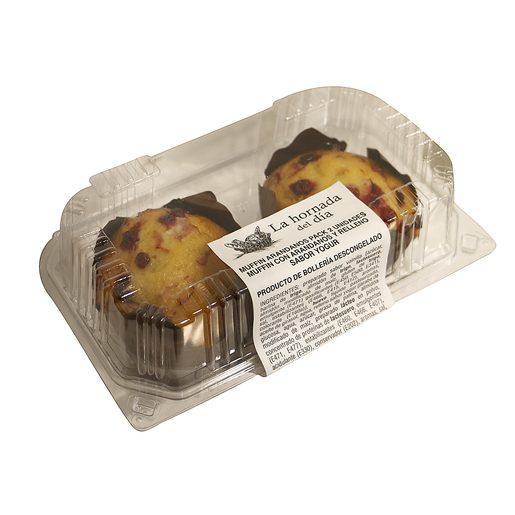 EL MOLINO DE DIA muffin de yogur con arándanos paquete 2 ud 180 gr
