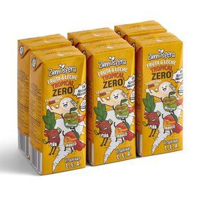 DIA ZUMOSFERA bebida con leche tropical zero pack 6 uds 200 ml