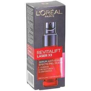L'OREAL Revitalift laser X3 serum antiedad efecto piel nueva botella 30 ml