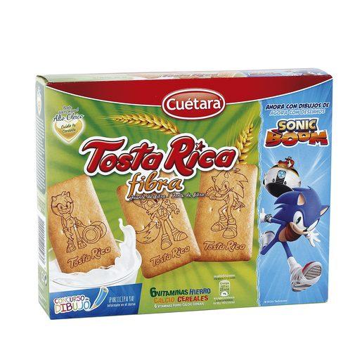 CUETARA galletas tosta rica fibra paquete 570 gr