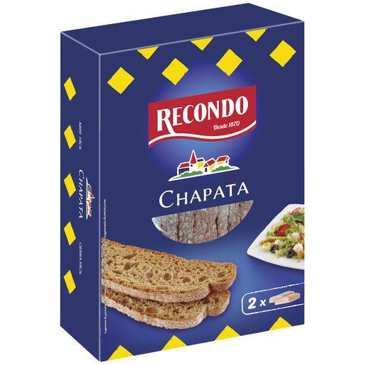 RECONDO pan tostado chapata caja 167 gr