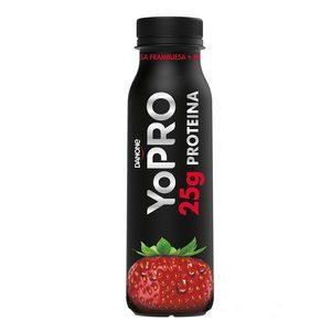 YOPRO yogur líquido fresa botella 300 gr