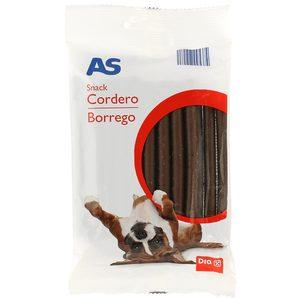 AS snack para perros sabor cordero bolsa 200 gr
