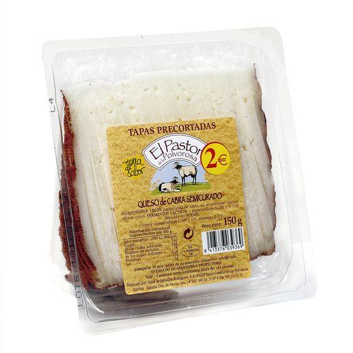 EL PASTOR DE LA POLVOROSA queso de cabra semicurado cuña 150 gr
