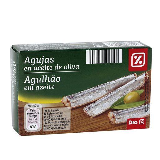DIA agujas en aceite de oliva lata 80 gr