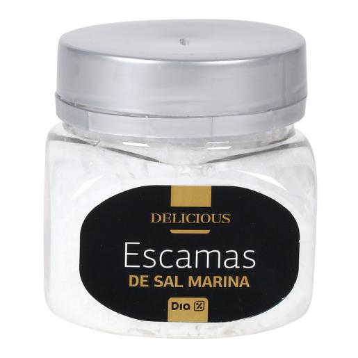 DIA DELICIOUS escamas de sal marina frasco 125 gr