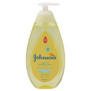 JOHNSON'S gel de baño cuidado completo para bebés dosificador 500 ml