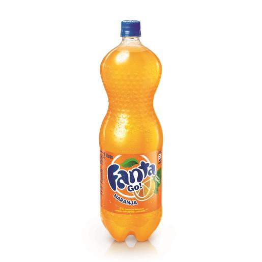 FANTA naranja botella 2 lt