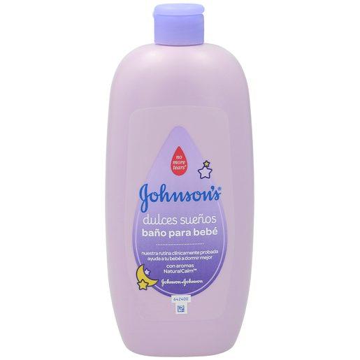 JOHNSON's gel baño niños dulces sueños botella 750 ml