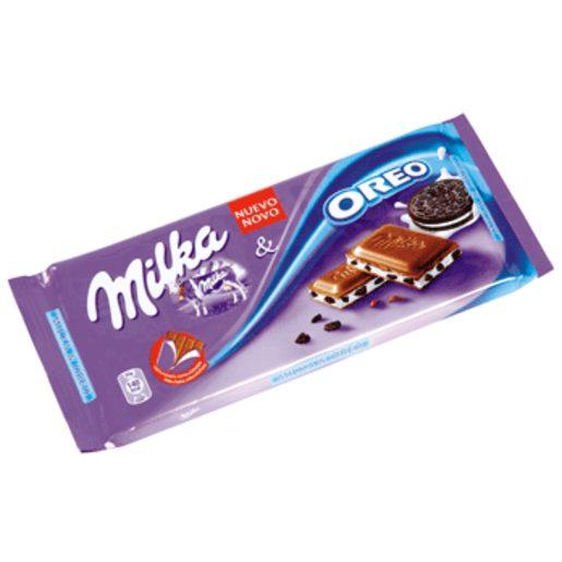 MILKA chocolate con oreo tableta 100 gr