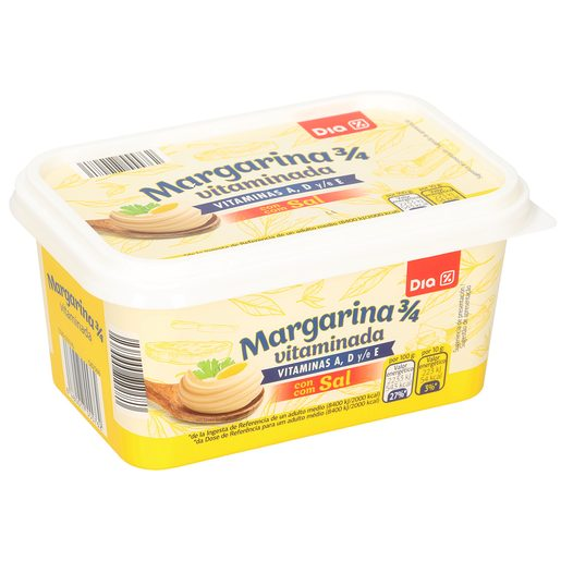 DIA margarina vitaminada con sal 500 g