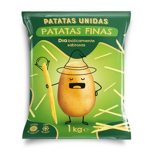 DIA PATATAS UNIDAS patatas finas prefritas bolsa 1 Kg
