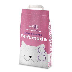 DIA DELIGATO arena para gatos absorbente perfumada bolsa 5 Kg
