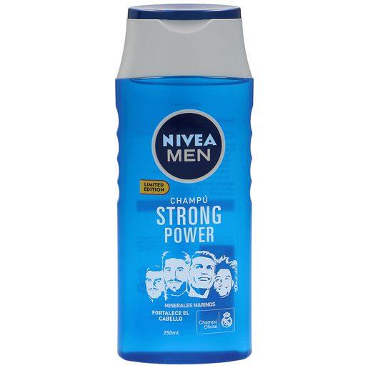 NIVEA Men champú strong power bote 250 ml
