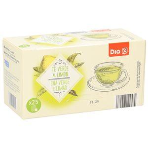 DIA té verde al limón estuche 25 bolsitas