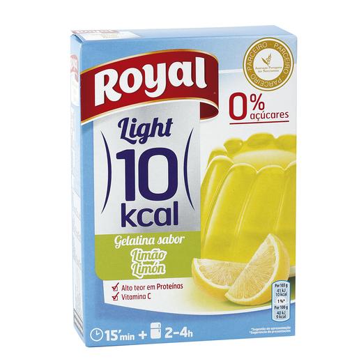 ROYAL Light gelatina sabor limón 0% azucares caja 31 gr