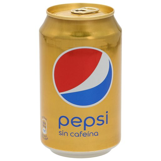 PEPSI sin cafeina lata 33 cl
