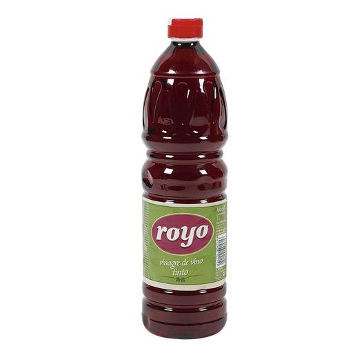 ROYO vinagre de vino blanco botella 1 lt