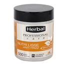 HERBAL Professional care mascarilla antiencrespamiento cabello liso 500 ml