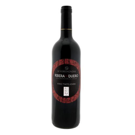 SEÑORIO DE ONDAS vino tinto DO Ribera del Duero botella 75 cl