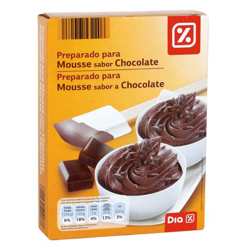 DIA preparado para mousse de chocolate estuche 150 gr