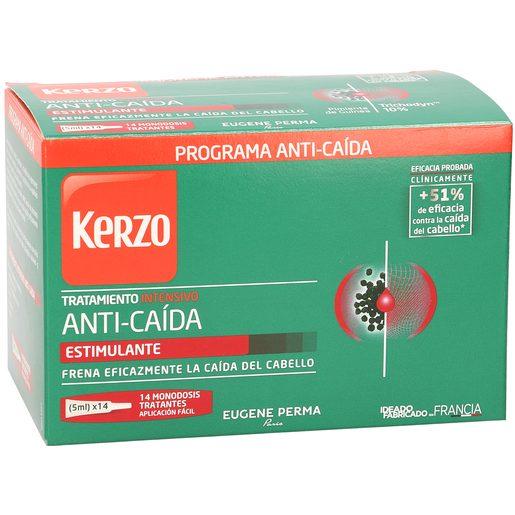 KERZO tratamiento anticaída intensivo caja 14 ampollas