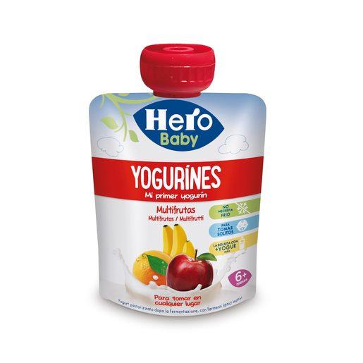 HERO Baby yogurines multifruta pouch 80 gr