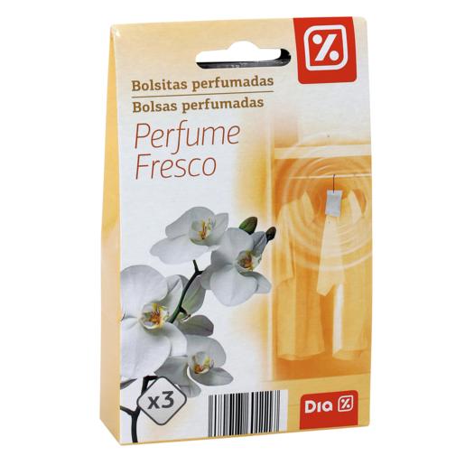 DIA bolsita perfumada aroma fresco caja 3 uds