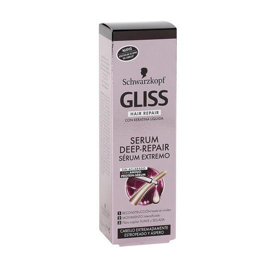 GLISS serum reparación intensa cabello estropeado tubo 100 ml