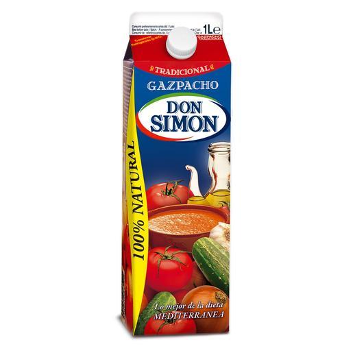 DON SIMON  gazpacho refrigerado envase 1 lt