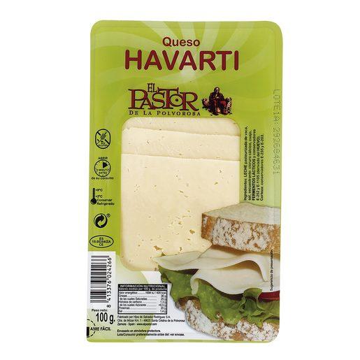 EL PASTOR DE LA POLVOROSA queso havarti lonchas sobre 100 gr
